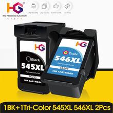 Alizeo pg545 catridge preto para canon mg2500 mg2550 mg2450 mg 2550 2450 cartucho de tinta pixma impressora pg 545 ip545