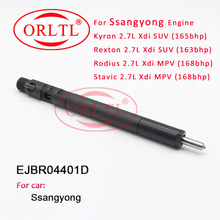 Nozzle EJBR04401D Common Rail Injector EJBR 04401D Diesel Sprayer EJBR04401D For SsangYong Kyron/Rexton/Rodius/Stavic 2.7L