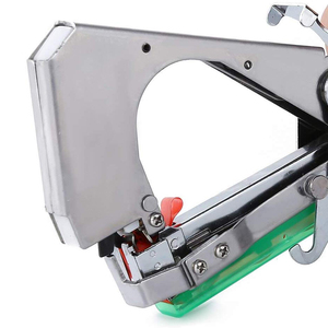Image 5 - Drtools ใหม่คุณภาพสูงสาขามือผูกลวดเย็บกระดาษ + Tapener + TapesBinding เครื่องผักดอกไม้สวน tapetool 1 ชุด