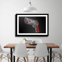 1Pcs Blowback BB AIR Pistol Gun Military Collection (No Frame) Canvas Poster Artwork bulgari bb collection