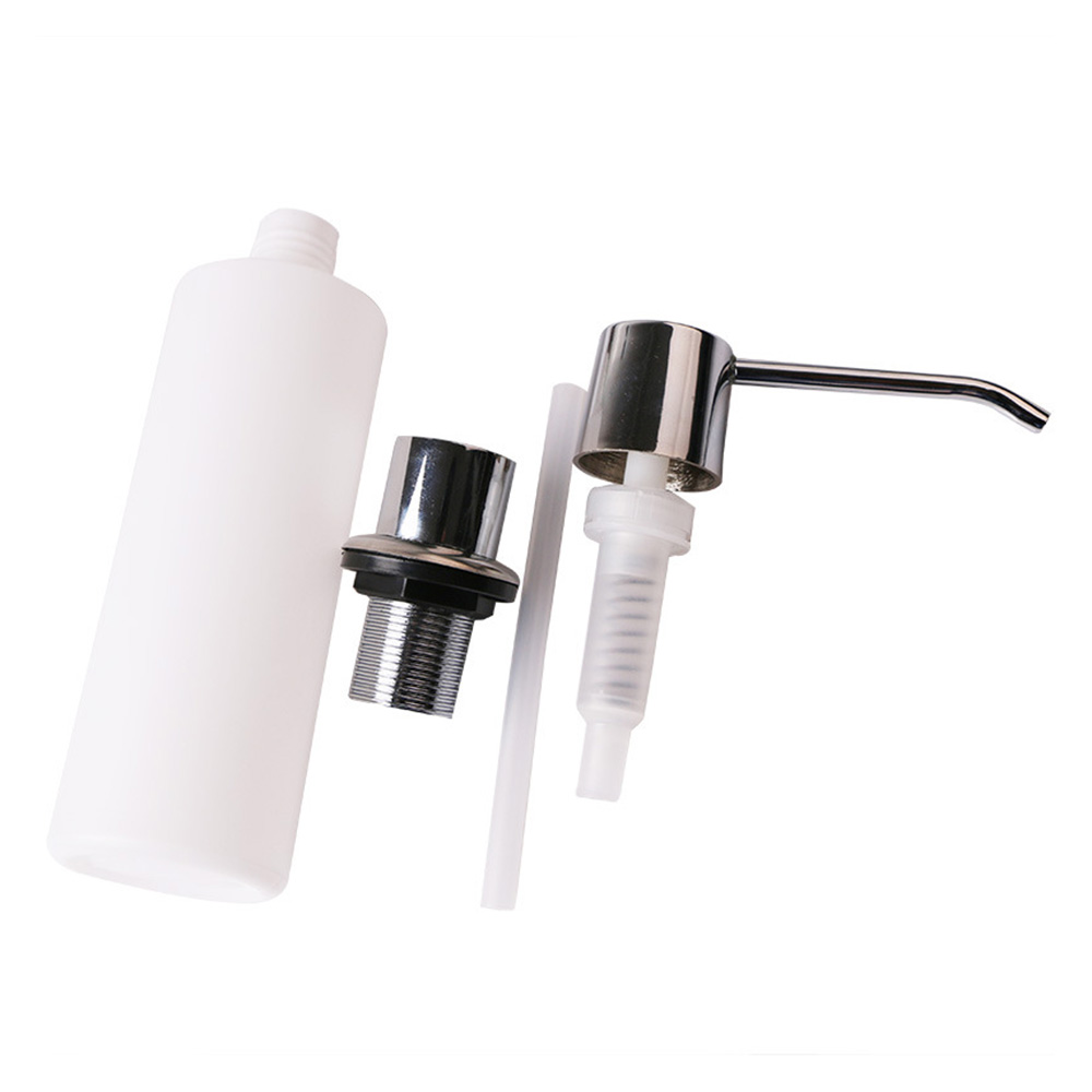 300ml Bathroom Faucet Sink Soap Dispenser Liquid Soap Lotion Dispenser Pump Storage Holder Bottle Kitchen Replace Bottle image