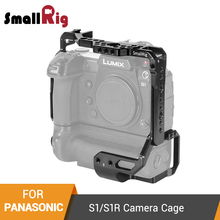 SmallRig S1/S1R Camera Cage for Panasonic S1/S1R Cage With DMW-BGS1 Battery Grip / Cold Shoe Mounts / Nato Rail - 2410