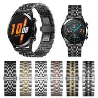 Metalen Rvs Classic Polsband Voor Huawei Horloge Gt 2 46Mm 42Mm Band Armband Horlogeband Voor Honor magic Polsband