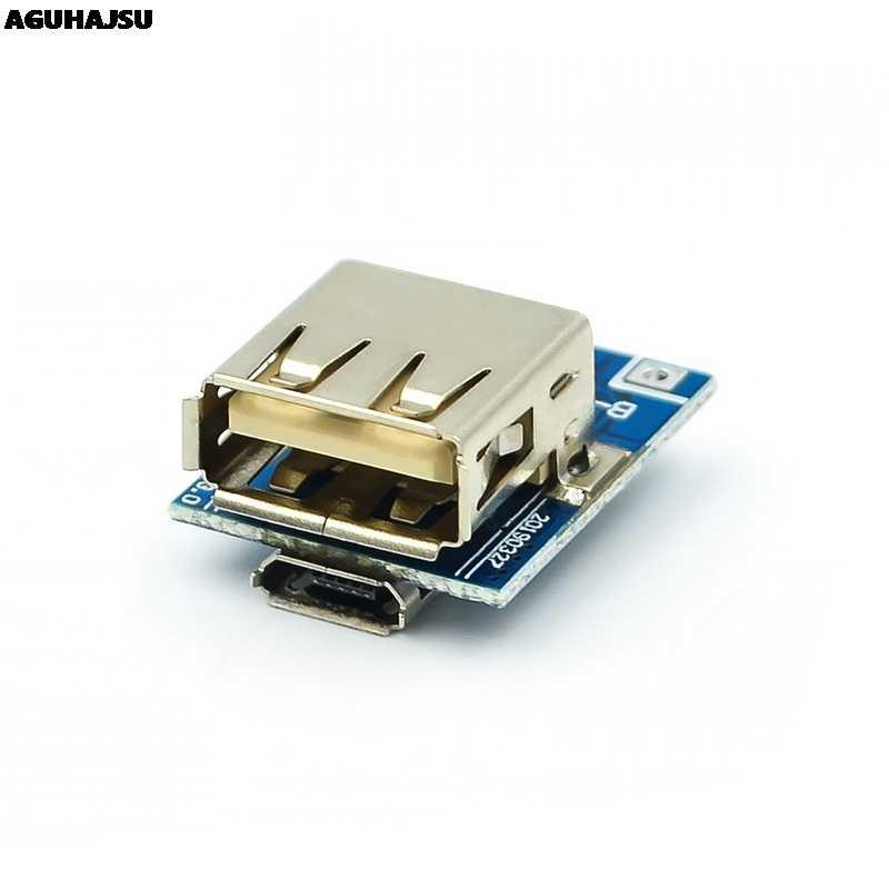 5V Boost Step Up Power Module Lithium LiPo Batterie Lade Schutz Bord Led-anzeige USB für DIY Ladegerät 134N3P programm