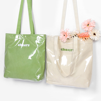Summer Beach Transparent Tote Handbag Large Canvas Casual Ladies Shopping Bag Soft Waterproof PVC Shoulder Bags Solid Color цена 2017