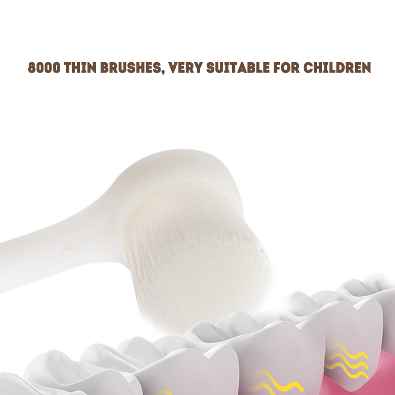 electric toothbrush kids replacement brush heads Protect children's oral hygiene 2 to 10 years CE 3C safety certificate SU145