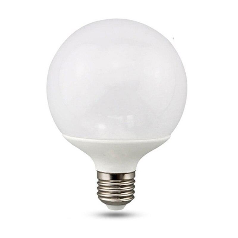 Большая Светодиодная лампа E27 Global светильник G80 G95 G120 110V 220V энергосберегасветодиодный Светодиодная лампа супер яркий холодный белый теплый ...