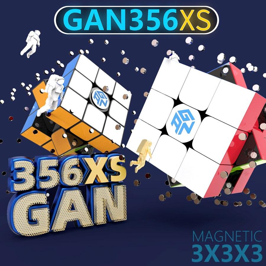 Puzzle Cube GAN356xs Cube magnétique Gan356 XS 3x3x3 Gan 356xs Cube magnétique 3x3x3 Cube de vitesse magique 3x3 Cubo Magico magnétique
