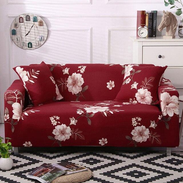 Купить стрейч с цветочным принтом чехлы для диванов эластичные мебель картинки цена