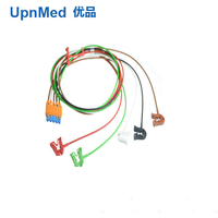 Original M1973A 989803125861 CBL 5 leadwires/grabber for ECG Cable with leadwires