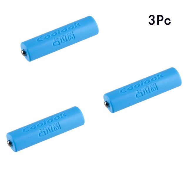 3Pc 14500 AA Size Dummy Fake Battery Case Shell Placeholder Cylinder Conductor