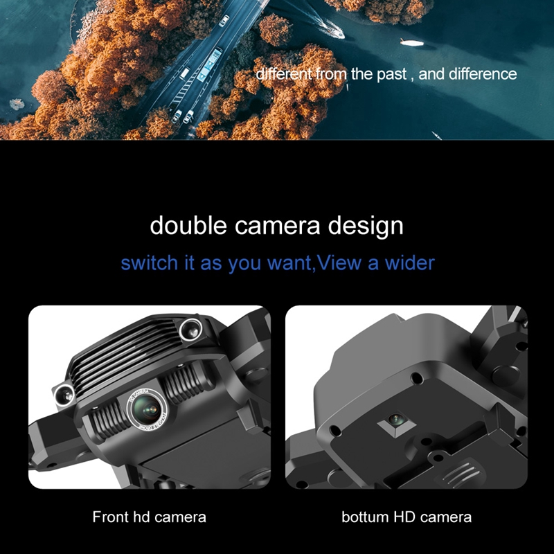 LS11 RC Drone 4K With Camera HD 1080P Mini Foldable Dron FPV Wifi Drones Professional Quadcopter Hold Mode Dual Cameras Boy Toys 2