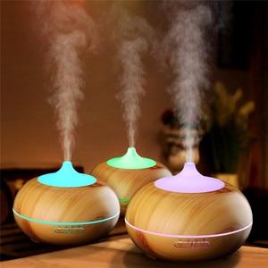 Image 4 - DEVISIB 300ml Ätherisches Öl Diffusor Aroma Kühlen Nebel luftbefeuchter mit Wasserlosen Auto abschaltung und 7 Farbe LED licht und BPA FREI
