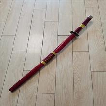 Cosplay op roronoa zoro três faca fantasma corte ver sandai kitetsu katana role playing sauron arma espada 100cm madeira prop