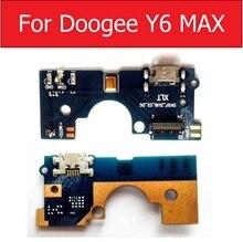 USB شحن ميناء التوصيل مجلس ل Doogee Y6 ماكس شاحن جاك حوض موصل مجلس فليكس كابل استبدال أجزاء