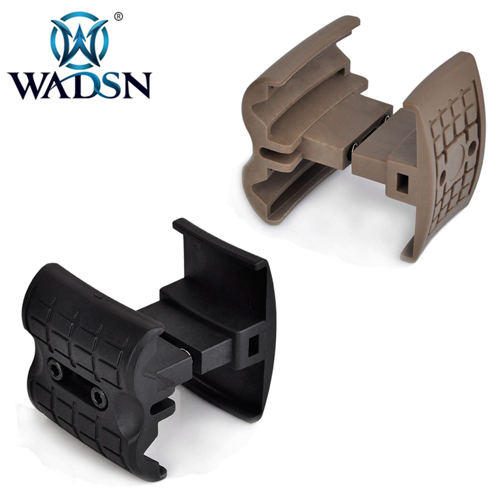 WADSN Tactical Mag Clip For Fast Reloading AK MAG Coupler Fit AK47/74 Series Airsoft Rifle Magazine AEG/GBB Paintball Accessory