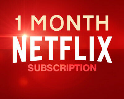 Anycast Support Netflix Subscription 1 Month Premium Ultra HD 4 Screens For TV Stick Set Top Box Mobile Android IOS PC Laptop