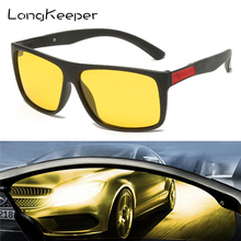 Glasses Night-Vision Light Driving Safety-Goggles UV400 Yellow Anti-Glare-Driver Longkeeper