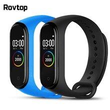 Rovtop M4 смарт-браслет 4 фитнес-трекер часы спортивный браслет сердечный ритм кровяное давление монитор смарт-ленты здоровье браслет