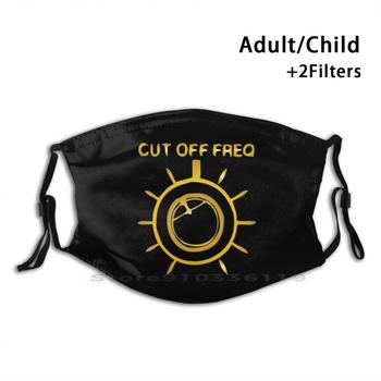 Cut Off Freq Of The Jackulator Reusable Mouth Face Mask With Filters Kids Acid Ambient Balearic Jackulator Club Chicago Deep image
