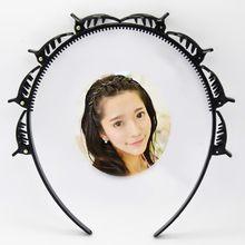Trenzador de pelo negro con Clip, horquilla de ráfaga, Aro para el pelo de varios niveles, Wisp, herramienta de estilismo para cabeza de tejido de aire