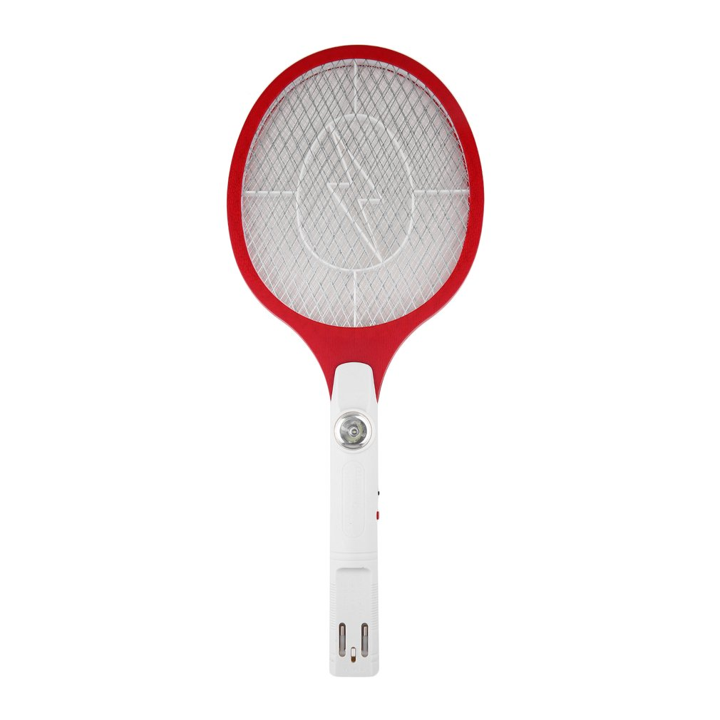 1 Pcs Kwaliteit Oplaadbare Led Electric Insect Bug Fly Mosquito Zapper Swatter Killer Racket 3-Layer Net Safe Hot verkoop Drop Ship