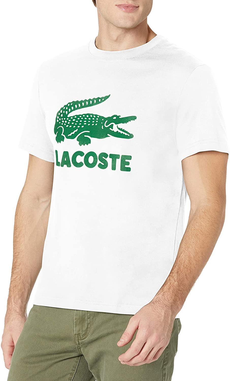 Футболка мужская с коротким рукавом, смешной дизайн, ниспадающий Графический Крок, новая летняя одежда с принтом для мальчиков