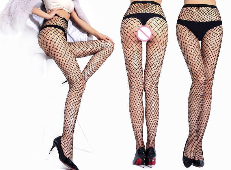 סקסי נשים גבוהה מותן רשת דייגים גרב רשת דייגי מועדון גרביונים תחתונים סריגה נטו גרביונים מכנסיים רשת הלבשה תחתונה tt016 1 יח'\חבילה