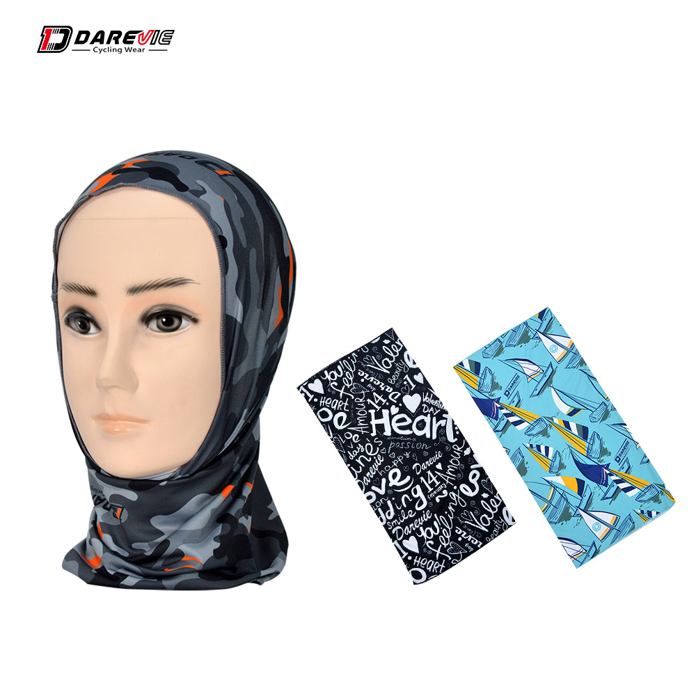 Darevie Cycling mask breathable cycling face mask windproof cycling mask summer Scarf Anti-UV cycling face cover