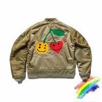 2020 CPFM.XYZ Grey WE'RE GOOD Bomber Jacket Men Women 1:1 Best Quality CPFM.XYZ Force Pilot Jacket