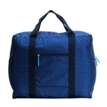 WaterProof Travel Bag Large Capacity Storage nylon Foldable Bag For Clothes Container Luggage Travel Suitcase Bags 45*20*36cm