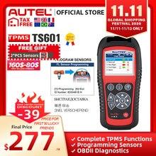 AUTEL MaxiTPMS TS601 TPMS أداة تشخيص السيارات OBD2 الماسح الضوئي السيارات المنشط أدوات إصلاح الإطارات الاستشعار برمجة رمز القارئ