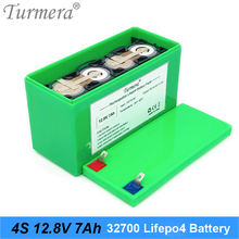 12V Battery 32700 Lifepo4 Battery Pack 4S1P 12.8V 7Ah with 4S 40A Balanced BMS for Electric Boat and Uninterrupted Power Supply