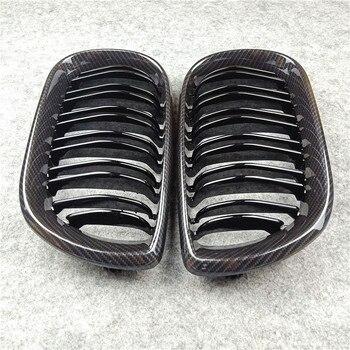 Auto de carbono Grade Dianteira Para B-mw F20 F22 E46 E90 E92 F30 F34 F32 G30 E39 E60 F10 E84 F48 X3 X4 X5 X6 F06 F12 F01 F07 Car Grille