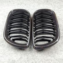Углеродная Автомобильная Передняя решетка для B-mw F20 F22 E46 E90 E92 F30 F34 F32 G30 E39 E60 F10 E84 F48 X3 X4 X5 X6 F06 F12 F01 F07, автомобильная решетка