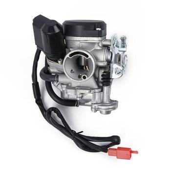 1pc akcesoria zamienne ze stopu gaźnika uniwersalny nowy wysokiej jakości zestaw gaźnika do skuterów motocyklowych ATV quady tanie i dobre opinie Carburetor Alloy