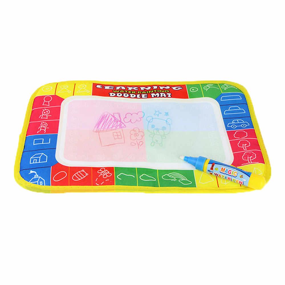 2019 pintura de desenho de água placa tapete caneta mágica doodle brinquedo presente 29x19 cm ótimo desenvolvimento educacional transporte da gota