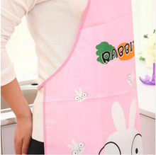 Hot cute cartoon waterproof aprons for women men kitchen restaurant cooking bib aprons avental de chef(China)