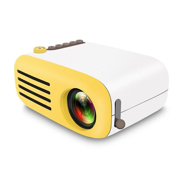 الرجعية نمط العارض البسيطة جهاز عرض (بروجكتور) ليد جهاز عرض مسرحي منزلي لعبة متعاطي المخدرات مشغل فيديو Sd سماعات USB 320*240 قرار