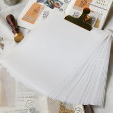 50 teile/paket A5 Transluzenten Papier Handgemachte DIY Scrapbooking Semi-transparente Kopie Papier Hand Buch Collage Material
