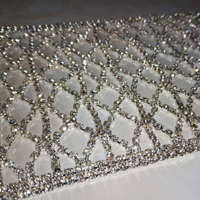 Silver Rhinestone Decorative Mask Fashion Nightclub Face Masks Accessories Women Party Performance Outfit Dj Stage Wear DT2374 5