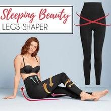 Recém cor sólida emagrecimento perna meias mulheres dormindo beleza pernas shaper legging meias de emagrecimento perna hip up calças dropshipping tc21