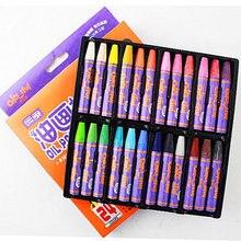 12 цветов восковой карандаш, масляной пастельный карандаш, набор для рисования, граффити, для детей, школы, офисные товары для рукоделия, подарки, цветной карандаш