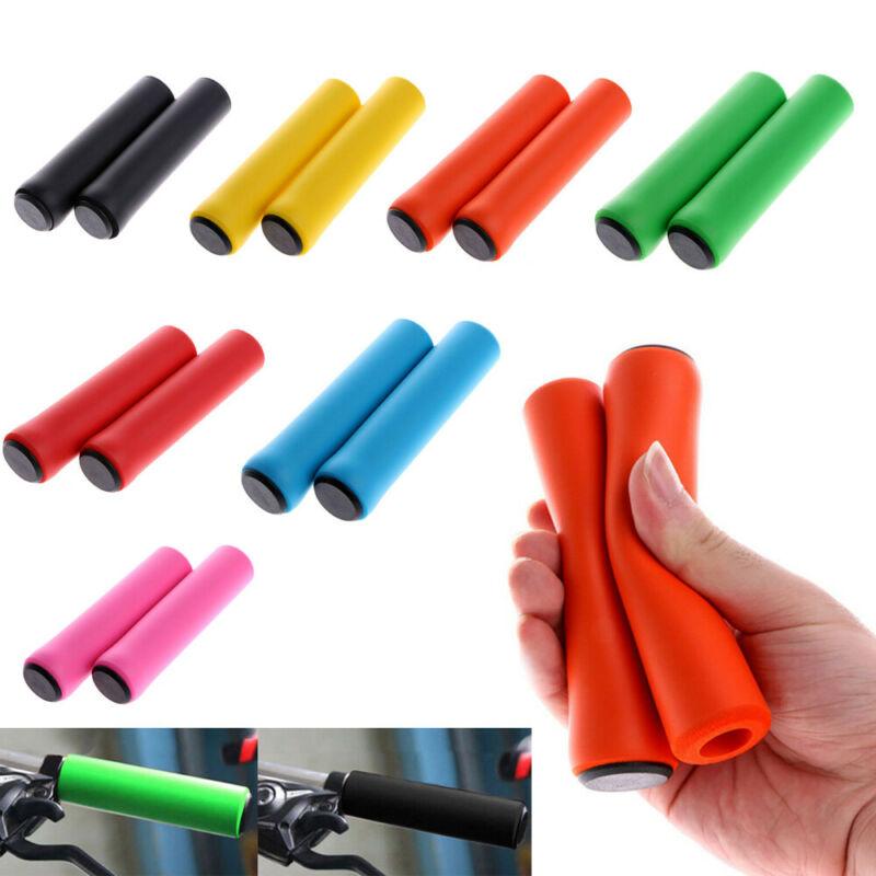 Soft Foam Sponge Handle Bar Grips Cover Bike Cycle Bicycle MTB XMAS New