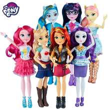 My Little Pony Equestria Girls Figure ball jointed doll Rainbow Pony Magic Princess Action Figures Toys for Kids Bonecas Gift