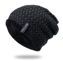 OUBR Mens fashion knit hat winter warm ladies thick anti-freeze high quality cycling windproof