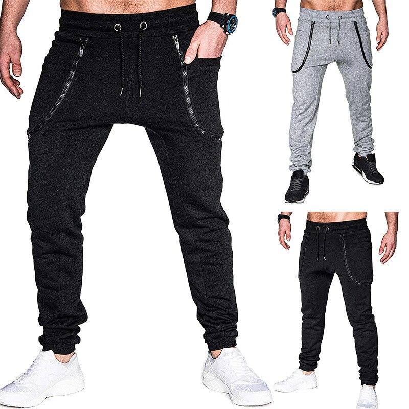 Men's Brand New Creative Personality Casual Pants Business Personality Sports Pants Jogging Pants Men Pants Cargo Pants