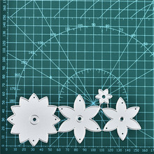 Naifumodo Flower Dies Metal Cutting for Scrapbooking Embossing Cut Stencils Cards Craft