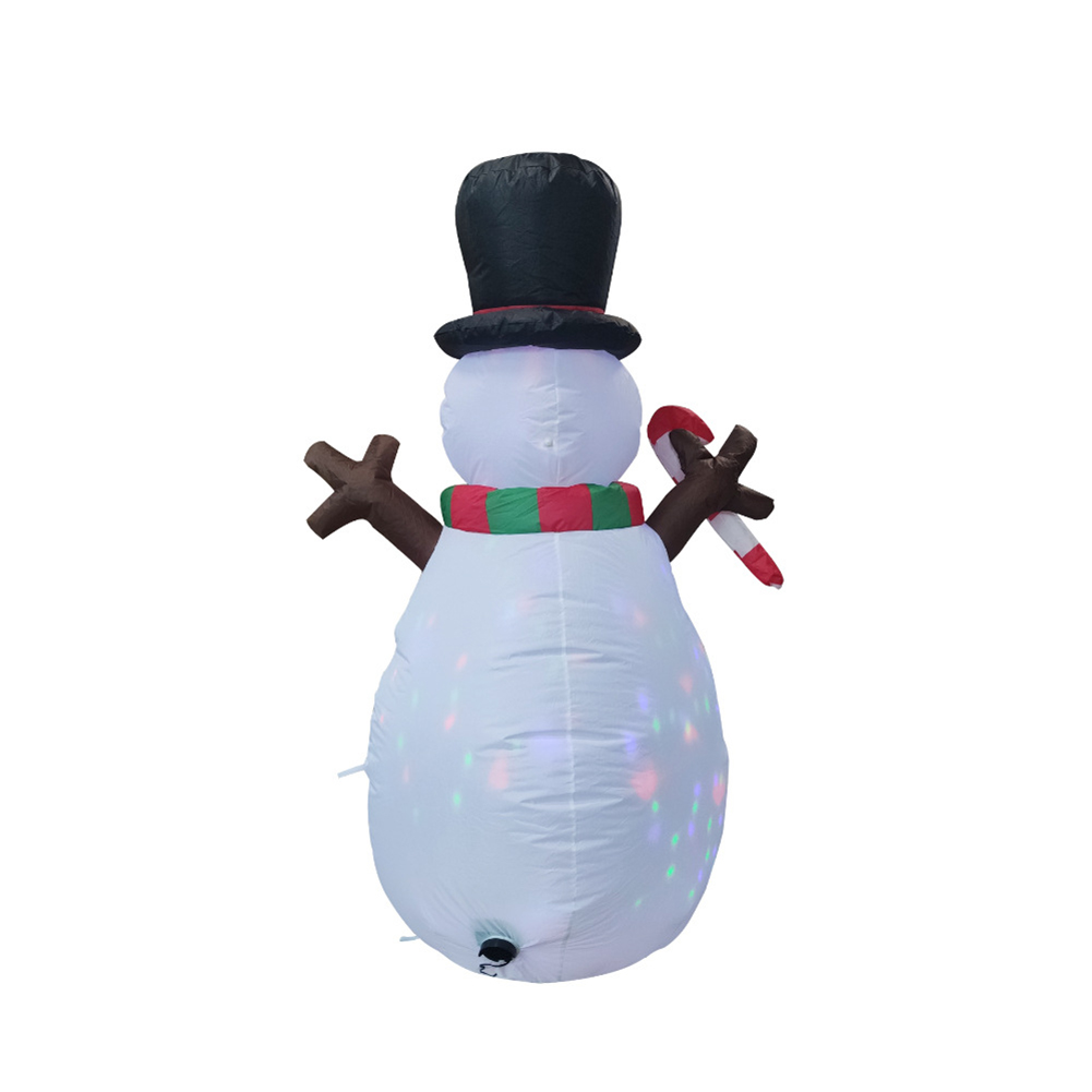 160cm Christmas Decorations Upgraded Snowman Inflatable Props Inflatable Toy Indoor Outdoor Yard Garden Decorations-2