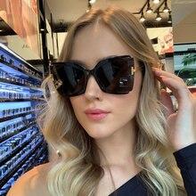 Новинка 2020 Модные Винтажные Квадратные Солнцезащитные очки